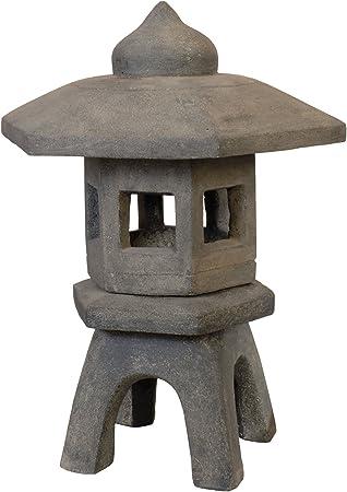 korb.outlet Pagoda de Piedra Fundido Lava Piedra, Piedra lámpara/Velas de luz, Farol, Escultura para casa y jardín (Resistente a heladas): Amazon.es: Juguetes y juegos
