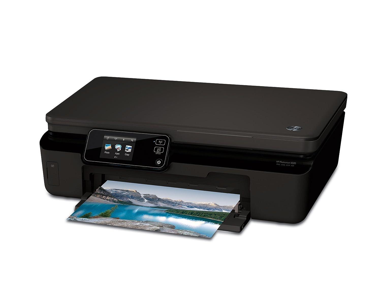 HP Photosmart 5520 e - Impresora multifunción tinta (B/N 11 ppm, color 8 ppm, 4800 x 1200 DPI), Negro