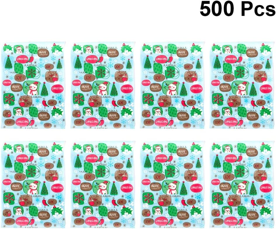 Red,White TomaiBaby 500 Pcs Christmas Nougat Making Wrappers Paper Candy Wrapping Twisting Wax Paper Candy Wrapper Sugar Paper for Homemade Wedding Christmas Party Supplies