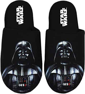 Star Wars Zapatillas de Hombre Darth Vader Dark Side Polyester House Shoes