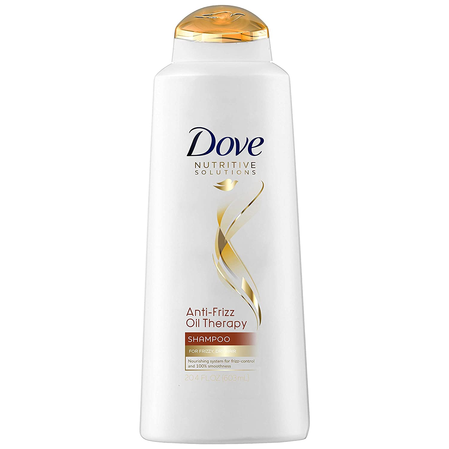 Dove Nutritive Solutions Shampoo, Anti-Frizz Oil Therapy 20.4 Fl oz