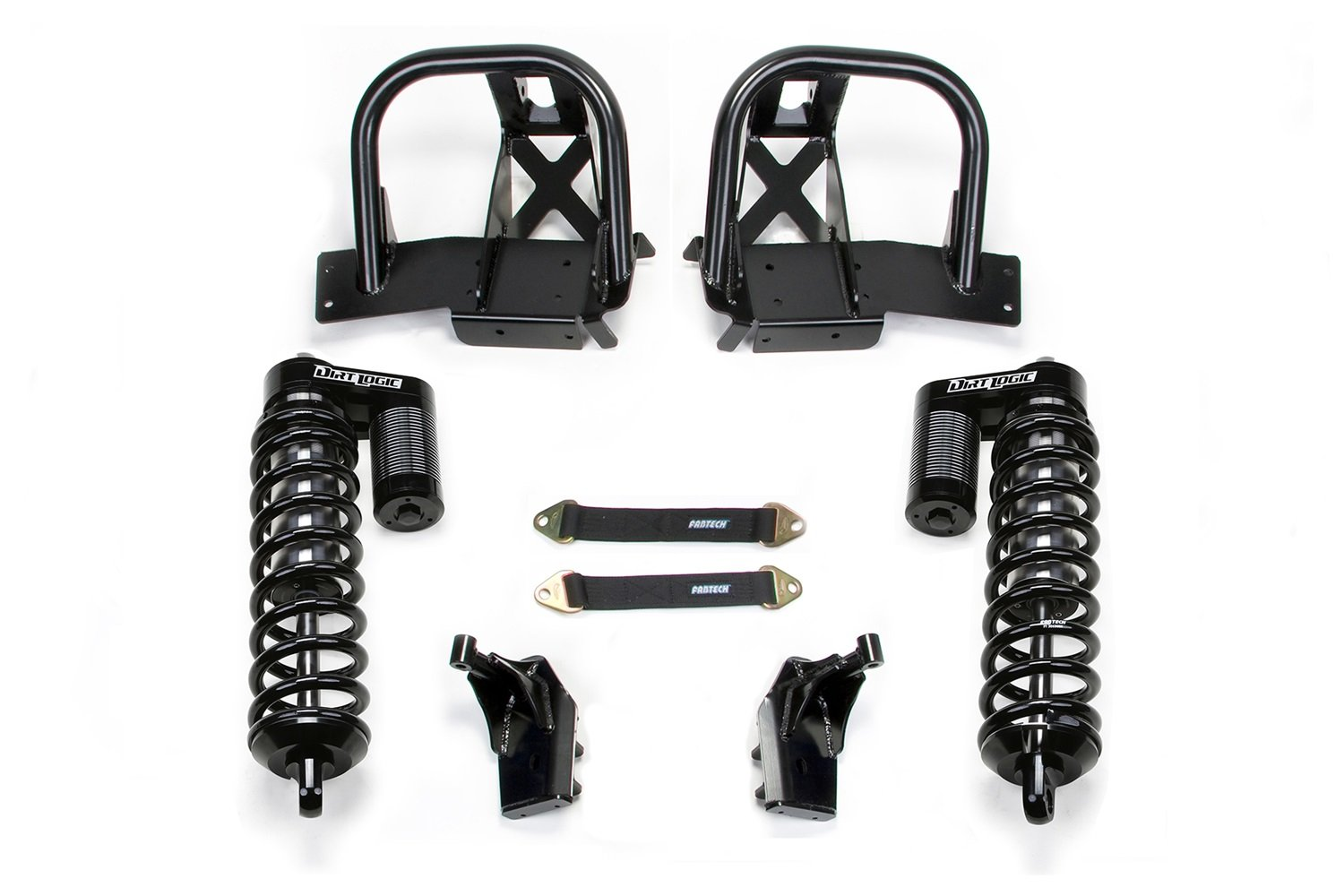 Fabtech FTS24109 Jk Rear C/O Conversion by Fabtech