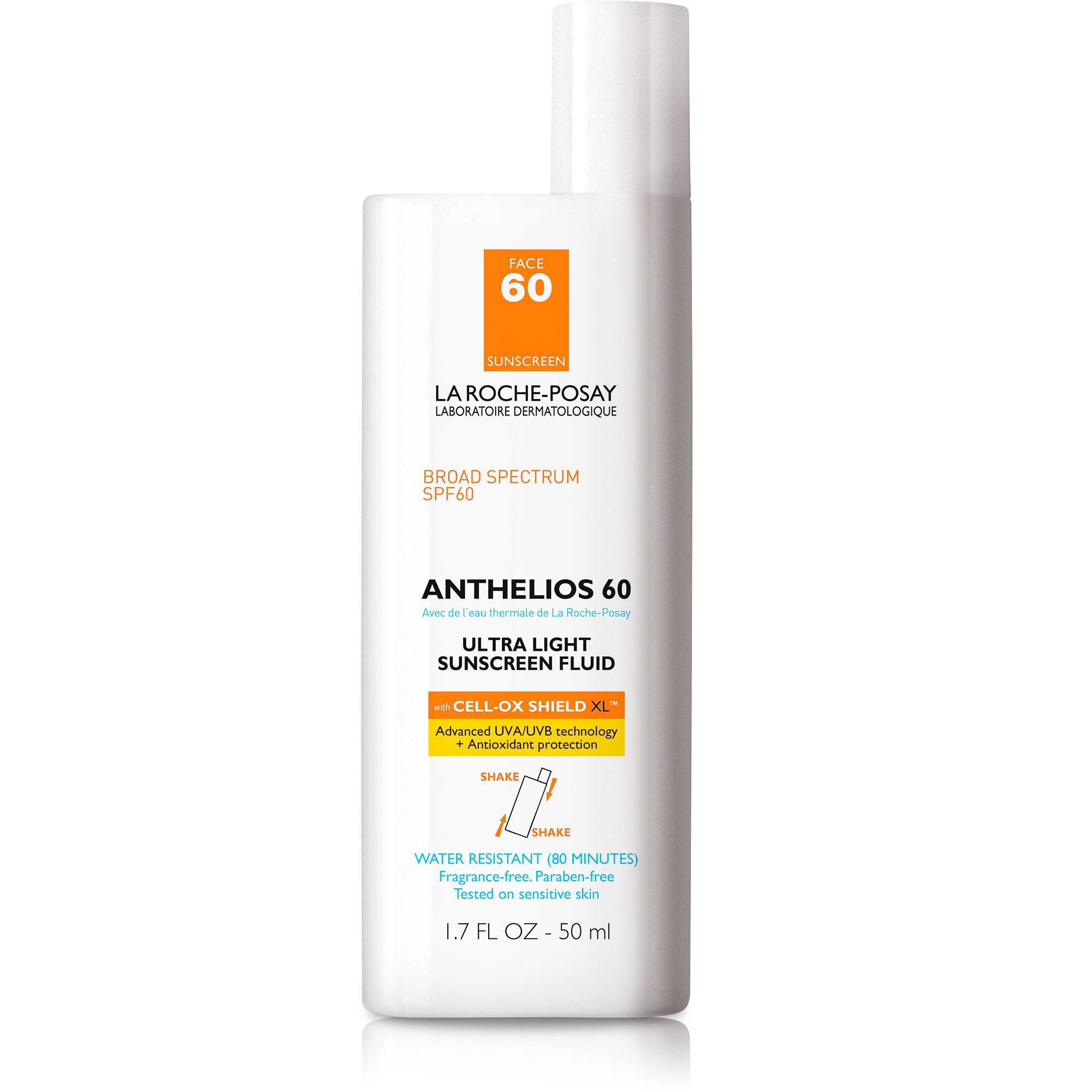 La Roche-posay Anthelios Ultra Light Sunscreen Fluid Extreme, Spf 60-1.7 Oz, 1.75 Oz by La Roche-Posay