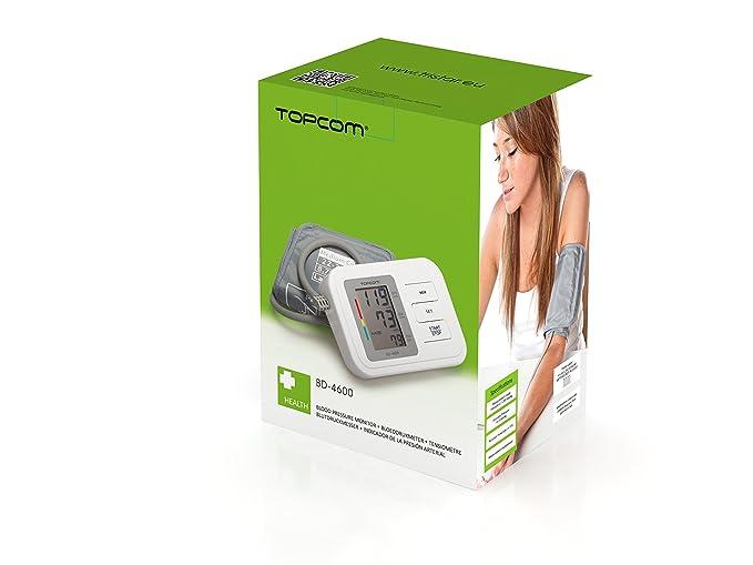 Topcom BD-4600 Antebrazo Semiautomático 1usuario(s) - Tensiómetro (240 g, 94 mm, 116 mm, 160 mm, 455 g): Amazon.es: Salud y cuidado personal