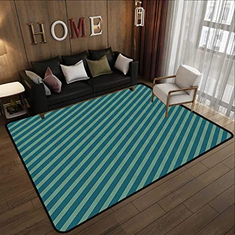 Amazon.com: Kitchen Rugs Non Skid,Blue and Green ...