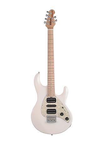 Ernie Ball música hombre silueta guitarra eléctrica, color blanco: Amazon.es: Instrumentos musicales