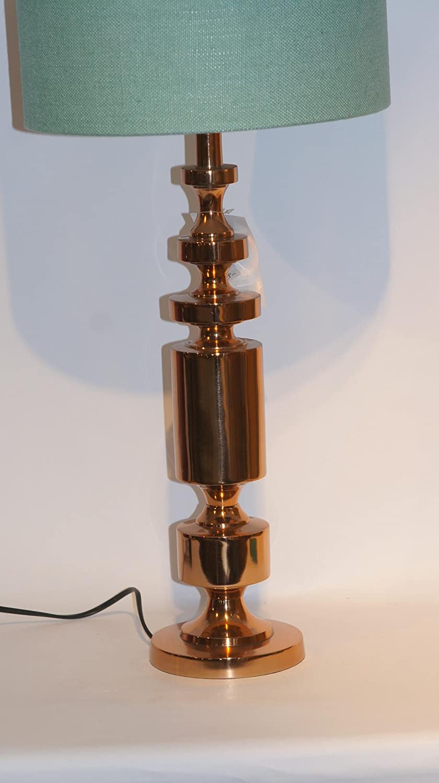 Light & Living qstall de lámpara de Mesa/pie Bronce Cilindro ...