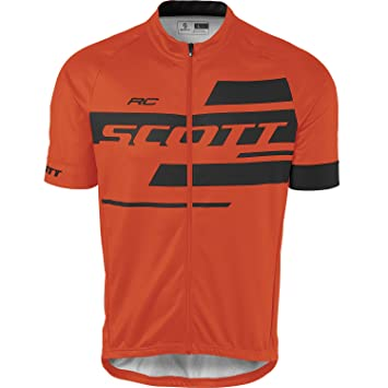 Scott RC Team 10 Cycling Jersey orange black 2017 edb3dab15