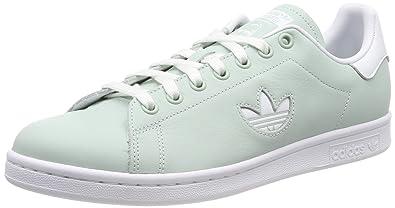 buy popular fc7d5 76038 adidas Stan Smith Chaussures de Gymnastique Homme, Vert FTWR White Vapour  Green, 36