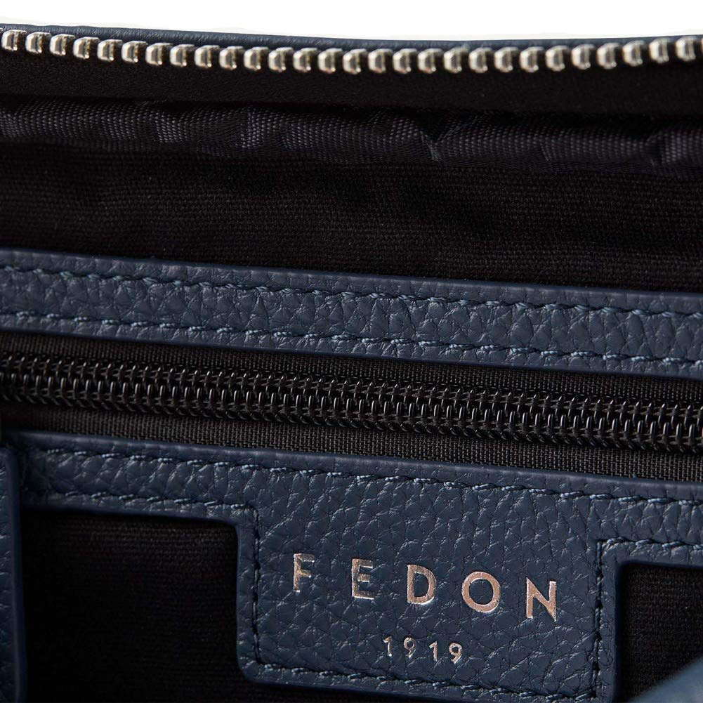 Fedon 1919 Ohanian Leather waist pack Blue MB1910030