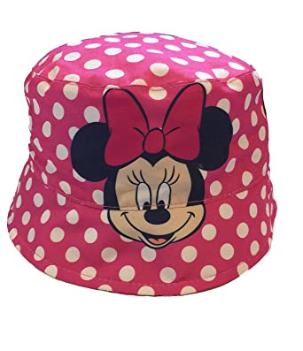 Minnie Mouse Baby Girls Toddler Sun Bucket Hat f91194461bcd