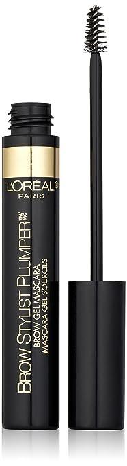 L'Oreal Paris Brow Stylist Plumper Brow Mascara, Transparent 385, 0.27 Fluid Ounce
