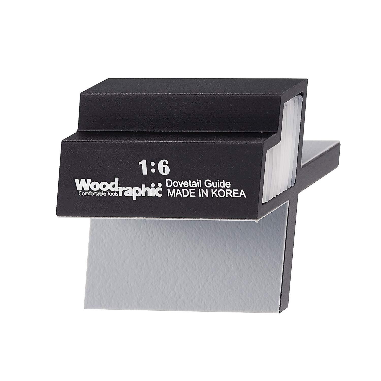 Woodraphic tous les nouveaux Queue d'aronde Jig marqueur magnétique à la main Scie Guide, multicolore 753132342141