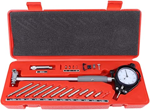 50-160mm Metal Diameter Indicator for Measuring Internal Sizes of Work Parts Measuring Engine Cylinder Tool Kit Dial Bore Gauge