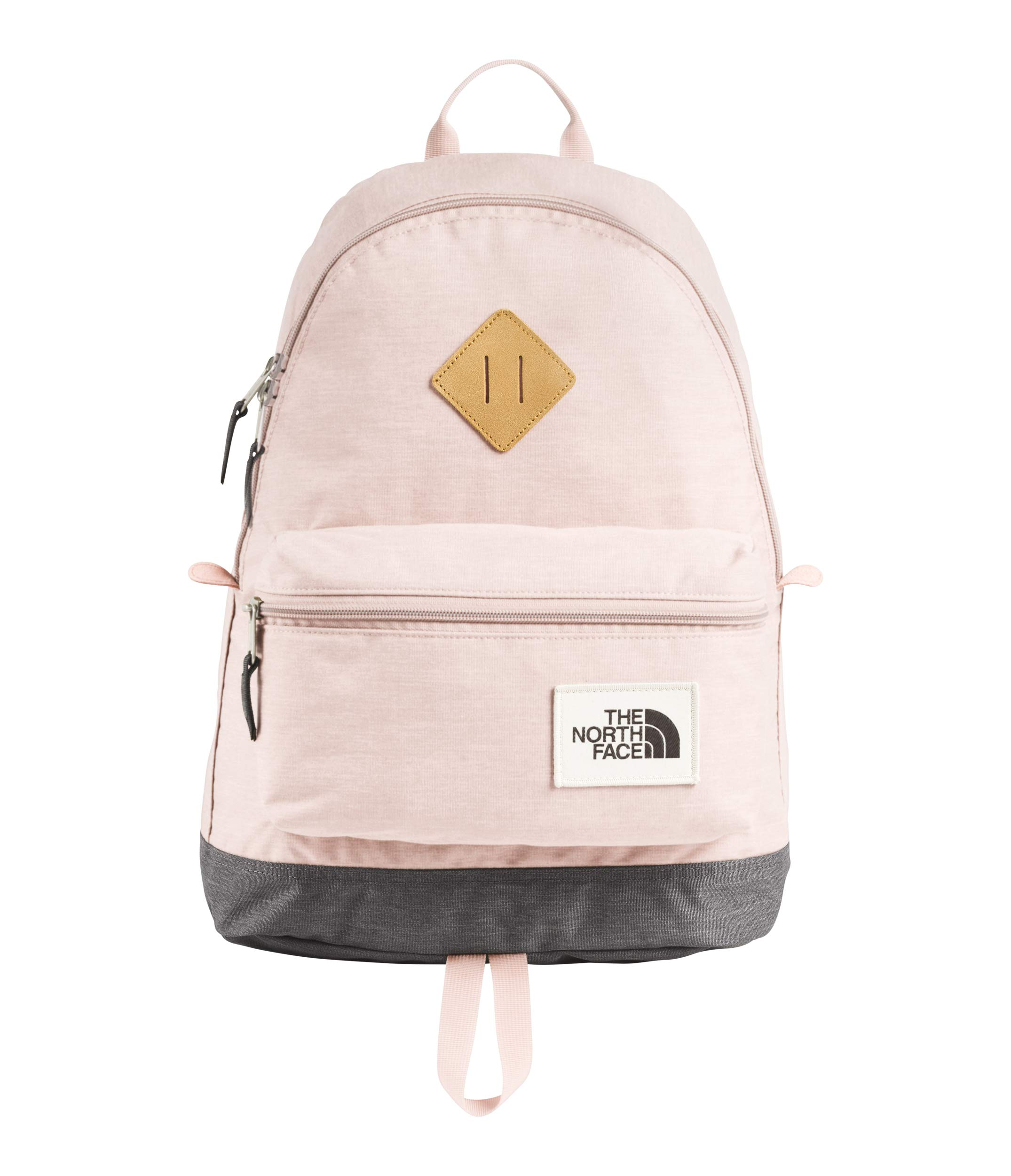 The North Face Mini Berkeley Backpack, Pink Salt/Rabbit Grey Light Heather by The North Face