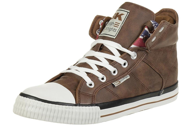 British Knights ROCO BK Sneaker B41-3709-14 England Flagge Cognac, Schuhgröße:EUR 42