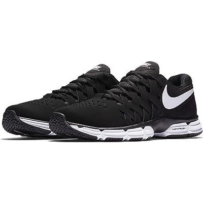 Nike Men's Lunar Fingertrap Trainer Cross, Black/White - Black, 8.5 Regular US | Fashion Sneakers