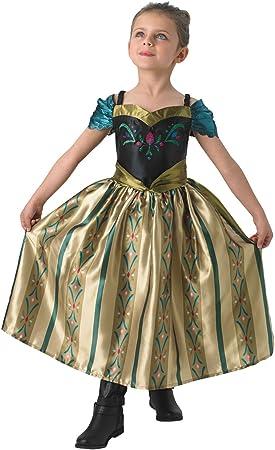 Rubies - Disfraz de Disney infantil de la coronación de Anna ...