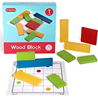 Deals on Wooden Block Puzzle Brain Teasers Toy
