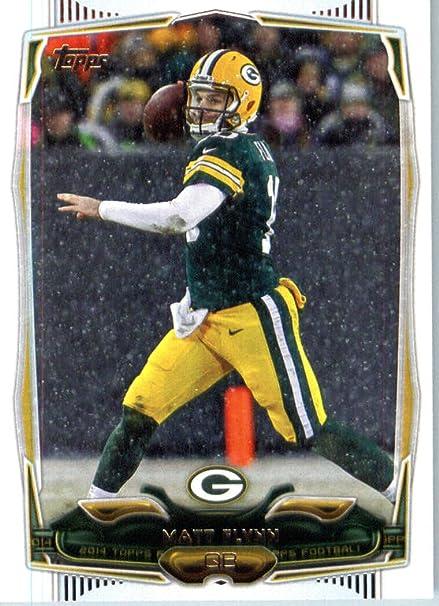 2014 Topps NFL Football Card #203 Matt Flynn Green Bay Packers at  hot sale
