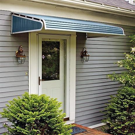 1500 Series Aluminum Door Canopy with Sidewings & Amazon.com : 1500 Series Aluminum Door Canopy with Sidewings ... pezcame.com