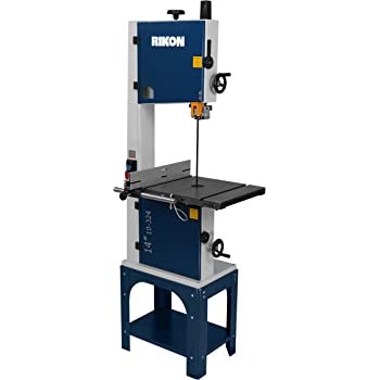 """RIKON Power Tools 10-324 14"""" Open Stand Bandsaw"""