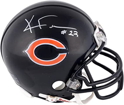 27bf89e842c Amazon.com: Kyle Fuller Chicago Bears Autographed Riddell Replica Mini  Helmet - Fanatics Authentic Certified - Autographed NFL Mini Helmets:  Sports ...