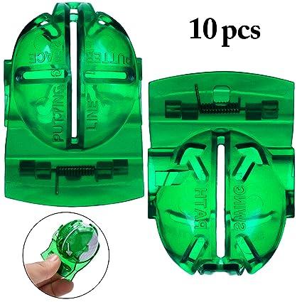 .com : outgeek 10 pcs golf ball maker liner ball marking tool ...