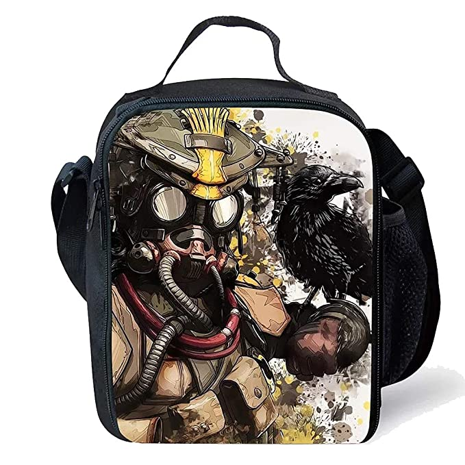 b1aa95f0bb4a Amazon.com: APEX Legends Kid Insulated Lunch Bag Lunch Box ...