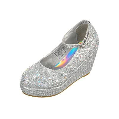 Angels Girls' Wedge Heels