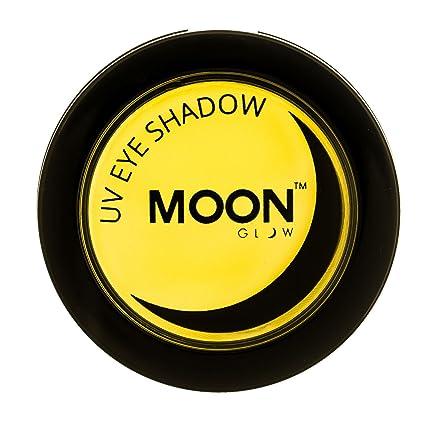 Moon Glow - Sombra de ojos UV de neón 3.5g Amarillo - produce un brillo