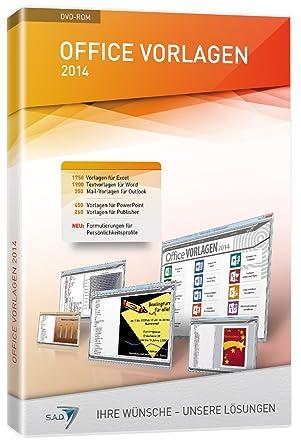 Office Vorlagen 2014: Amazon.de: Software
