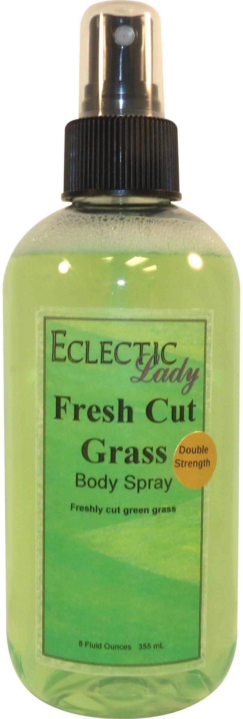 Fresh Cut Grass Body Spray (Double Strength), 8 ounces