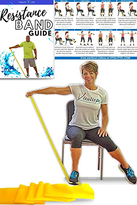 Amazon Com Resistance Band For Seniors Exercise Band