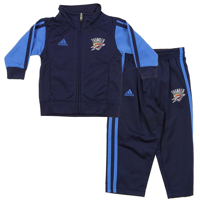 NBA Little Boys Infantsフルコートトラックジャケットパンツセット、さまざまなチーム 24 Months オクラホマシティサンダー B06XRPDH53