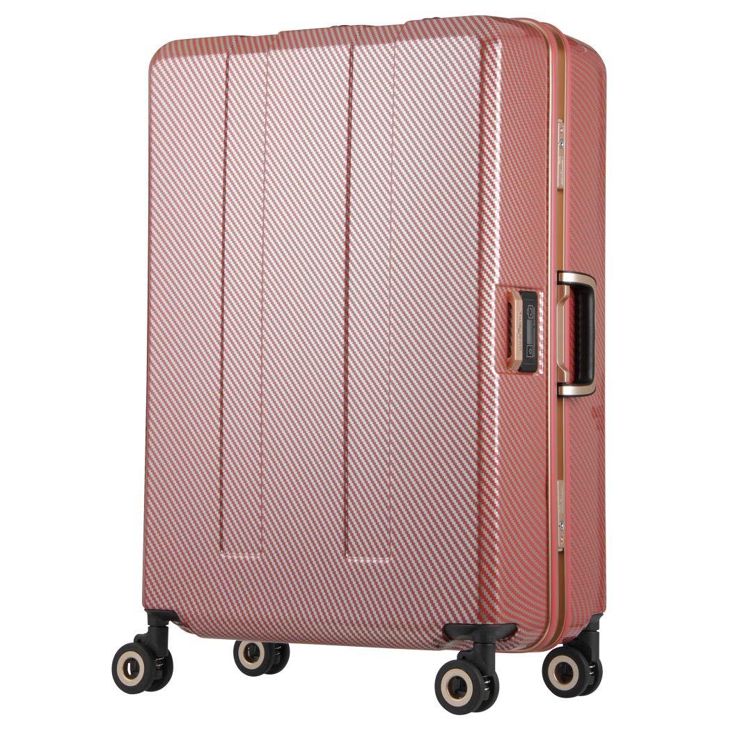 [アウトレット]スーツケース キャリー バッグ 旅行 L サイズ 大型 業界初計り付き 重さを量る ダブルクッションキャスター キャリー レジェンドウォーカー トラベルメーター   B07PPD9LPK