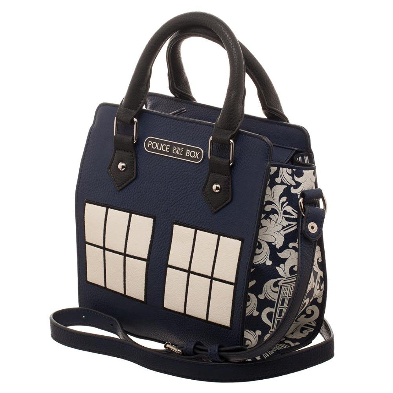 Doctor Who Police Box Jrs. Mini Brief Handbag