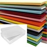 A4 Coloured Paper 500 Sheet Ream Supplied in a Weston® Clear Plastic Storage Box - 25 X ASSORTED COLOURS
