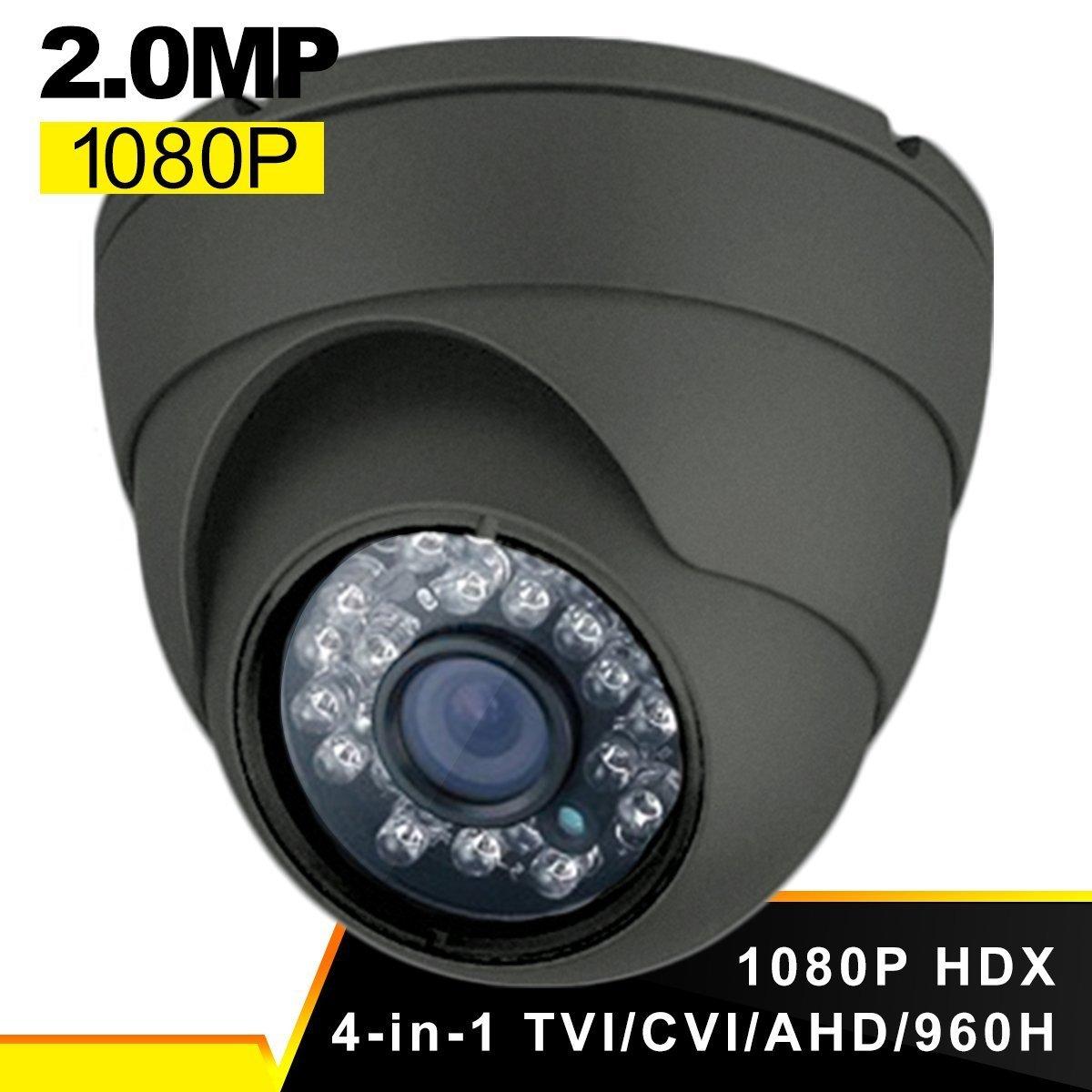 amazon com security camera savvypixel 1080p 4 in 1 tvi cvi cvbs