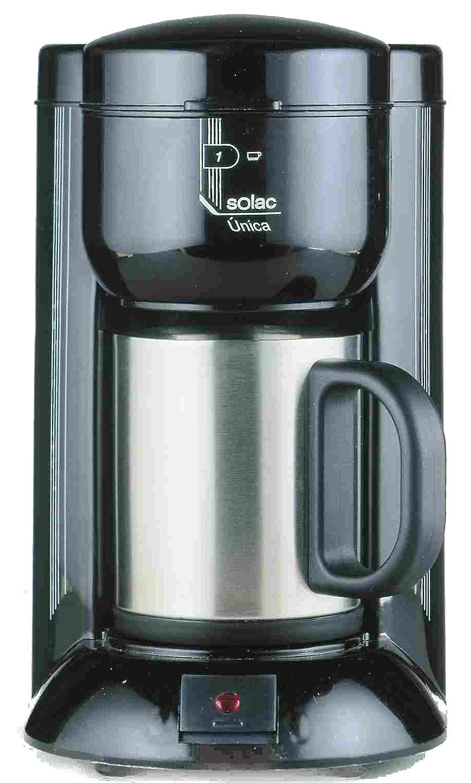 Solac C120BH2 - Cafetera (Cafetera de filtro, 650 W, Negro ...