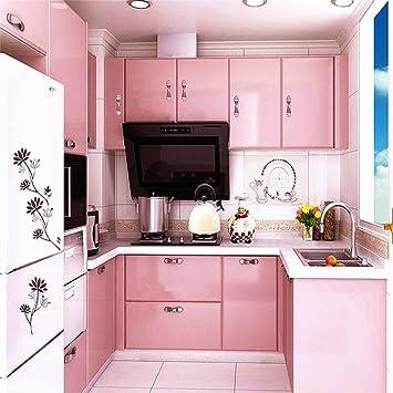Küchenschrank folie  Hot ARUHE® Hochwertig Küchenschrank-Aufkleber PVC Selbstklebend ...