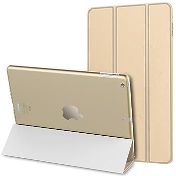 JETech 0469C- Funda para iPad Air, Carcasa con Soporte Función, Auto-Sueño/Estela, Oro