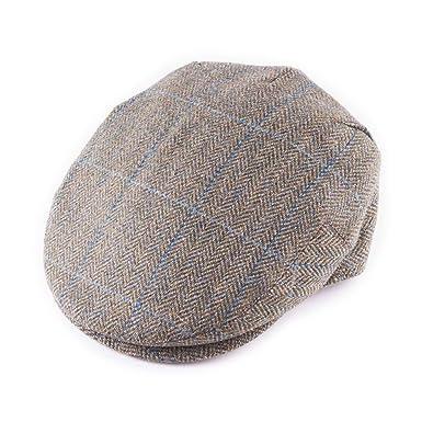 73b5ff78e50 Rydale Gamekeepers Tweed Flat Caps  Amazon.co.uk  Clothing