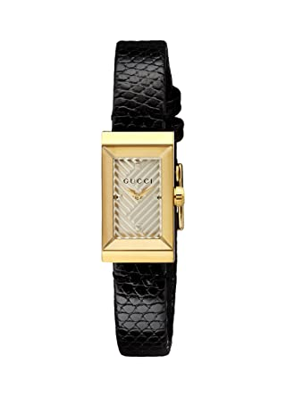 9148d210d09 Amazon.com  Gucci G-Frame Silver Dial Ladies Watch YA147507  Watches