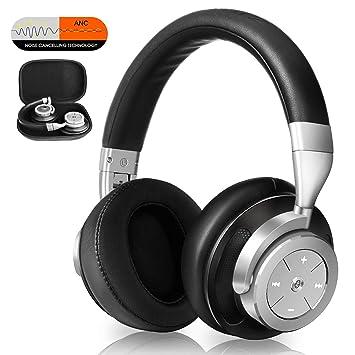 Auriculares Bluetooth con cancelación de ruido inalámbricos: Amazon.es: Electrónica