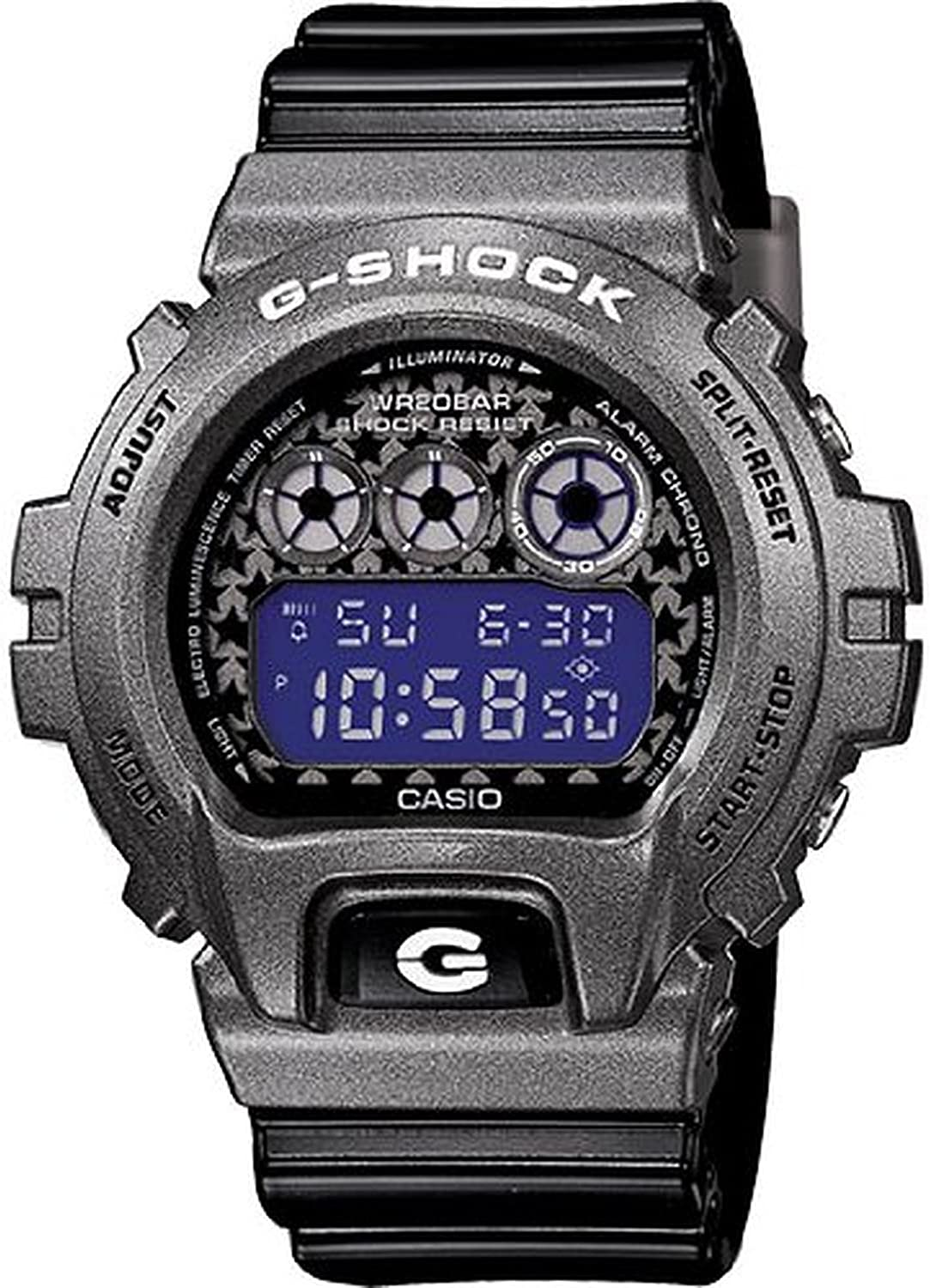 G-Shock DW-6900 Crazy Color Classic Series Men s Stylish Watch – Black One Size