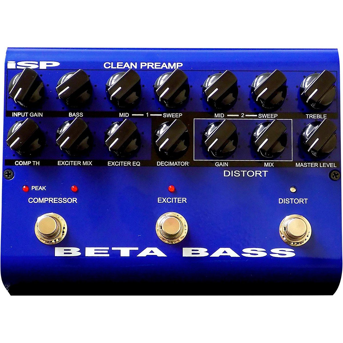 ISP Technologies Beta PreAmp Bass Effects Pedal by ISP Technologies
