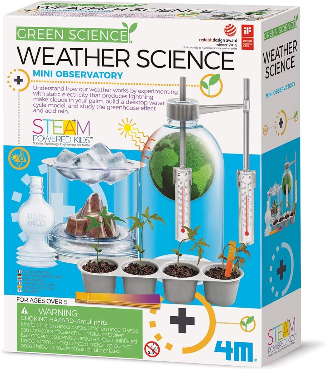 4M Weather Science Kit - Climate Change, Global Warming, Lab