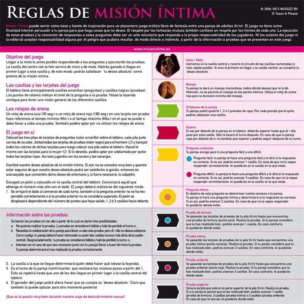 Tease And Please Juego erótico, Color Multicolor - 1 Juego erótico: Amazon.es: Salud y cuidado personal