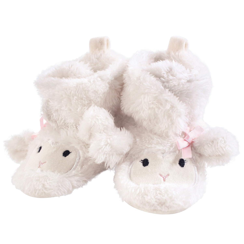 Hudson Baby Cozy Fleece Booties with Non Skid Bottom 10854640